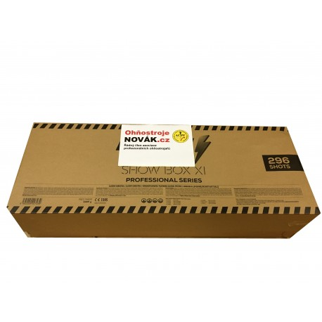 OHŇOSTROJNÝ SHOW BOX XI 296sh