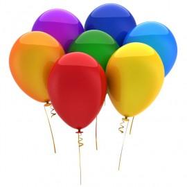 Balonky 100 ks mix barevné 26 cm pastelové