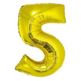 Balón foliový číslice 115 cm - 5