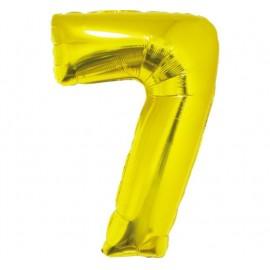 Balón foliový číslice 115 cm - 7