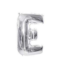 """Balón foliový písmeno """"E"""" 115 cm"""