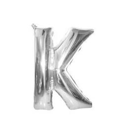 """Balón foliový písmeno """"K"""" 115 cm"""