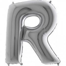 """Balón foliový písmeno """"R"""" 115 cm"""