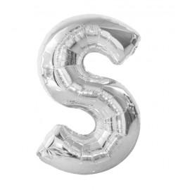 """Balón foliový písmeno """"S"""" 115 cm"""