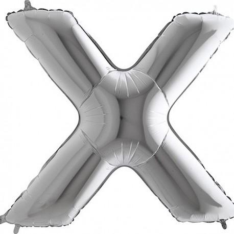"""Balón foliový písmeno """"X"""" 115 cm"""
