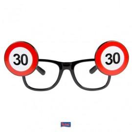 Brýle dopravní značka 30
