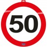 Dekorace dopravní značka 50, 47cm