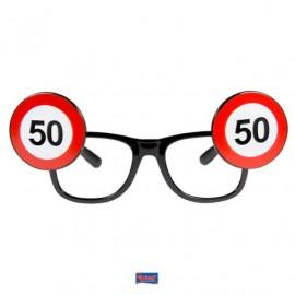 Brýle dopravní značka 50