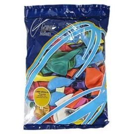 Balonky 100 ks barevné metalické - průměr 25 cm